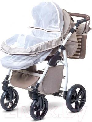 Детская универсальная коляска Anex Nixie (бежевый) - москитная сетка
