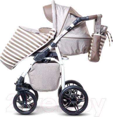 Детская универсальная коляска Anex Nixie (бежевый) - прогулочный блок