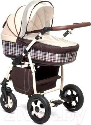 Детская универсальная коляска Anex Retro (синий) - vмоскитная сетка