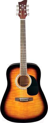 Акустическая гитара Jay Turser JJ45F-TSB - общий вид