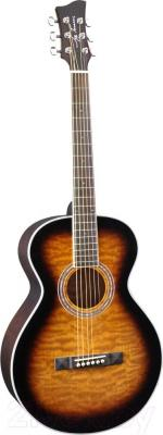 Акустическая гитара Jay Turser JTA-414Q-TSB - общий вид