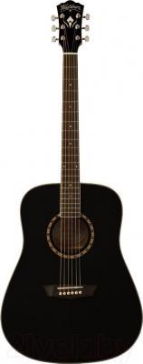 Акустическая гитара Washburn WD10B - в открытом виде