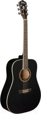 Акустическая гитара Washburn WD10SB - в открытом виде