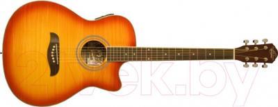 Электроакустическая гитара Oscar Schmidt OACEFCS - в открытом виде