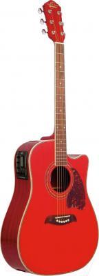 Электроакустическая гитара Oscar Schmidt OG2CETR - в открытом виде