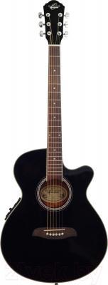 Электроакустическая гитара Oscar Schmidt OG8CEB - в открытом виде