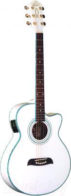 Электроакустическая гитара Oscar Schmidt OG10CEWH - в открытом виде