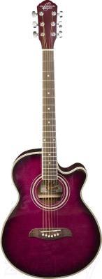 Электроакустическая гитара Oscar Schmidt OG10CEFTPB - в открытом виде