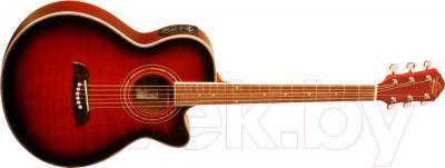 Электроакустическая гитара Oscar Schmidt OG10CEFTR - в открытом виде