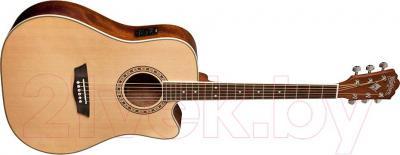 Электроакустическая гитара Washburn WD10CE - общий вид