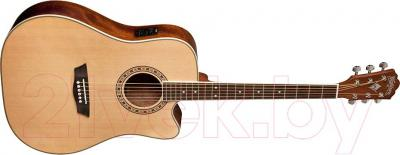 Электроакустическая гитара Washburn WD10CEPACK - общий вид