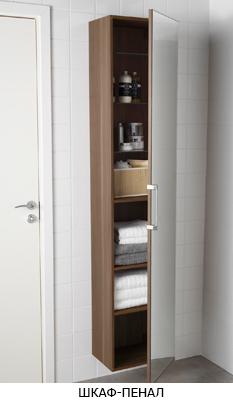 шкаф-пенал в ванную
